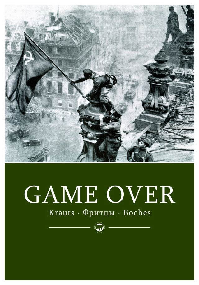 [Plakat: Game over!]